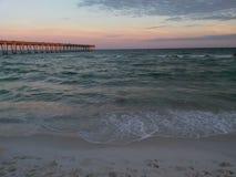Praia de Pensacola Foto de Stock