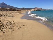 Praia de Phalasarna Foto de Stock Royalty Free