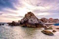 Praia de Phan Thiet Foto de Stock Royalty Free
