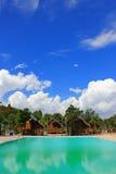 Praia de Phayun na proibição Chang District da província de Rayong Fotografia de Stock Royalty Free