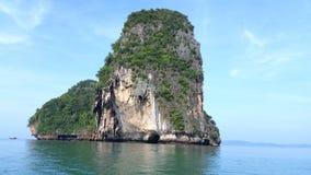 Praia de Phra Nang, Krabi, Tailândia Fotografia de Stock