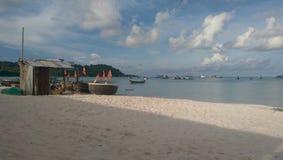 Praia de Phu Quoc Fotografia de Stock