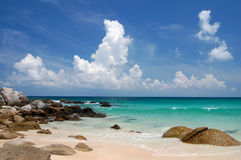 Praia de Phuket Foto de Stock Royalty Free
