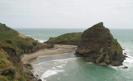 Praia de Piha imagem de stock royalty free