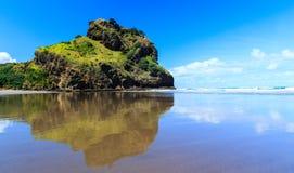 Praia de Piha Fotos de Stock