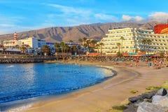 Praia de Pinta, Tenerife fotos de stock