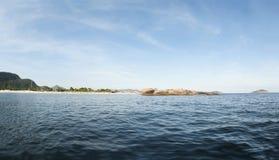 A praia de Piratininga, Niteroi, Rio de janeiro - Brasil Fotos de Stock Royalty Free