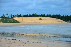 Praia de Pititinga, natal (Brasil) Fotografia de Stock Royalty Free