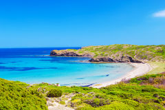 Praia de Platja del Tortuga Imagens de Stock