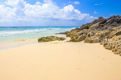 Praia de Playa Del Carmen, México Fotografia de Stock Royalty Free