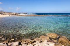 Praia de Playa Kanao imagens de stock royalty free