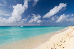 Praia de Playacar em México Fotos de Stock Royalty Free