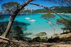Praia de Porquerol imagem de stock royalty free