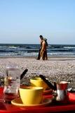 Praia de Port Said Imagem de Stock