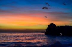 Praia de Portimao Fotografia de Stock