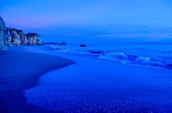 Praia de Portimao Fotos de Stock Royalty Free