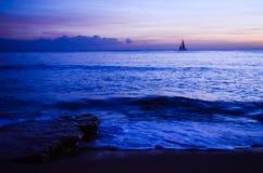 Praia de Portimao Imagens de Stock