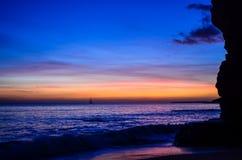 Praia de Portimao Fotos de Stock