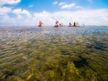 Praia de Porto de Galinhas Imagem de Stock Royalty Free