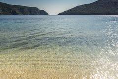 Praia de Porto Koufo, Chalkidiki, Sithonia, Macedônia central Imagens de Stock