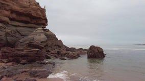 Praia de Porto Novo video estoque