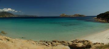 Praia de Porto Tramatzu Fotografia de Stock Royalty Free