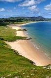 Praia de Portsalon Foto de Stock Royalty Free