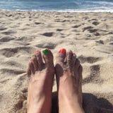 Praia de Portugal Imagens de Stock Royalty Free