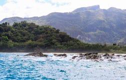 A praia de Puerto Princesa, Filipinas Foto de Stock Royalty Free