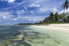 Praia de Punta Cana Imagem de Stock