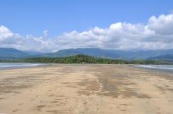 Praia de Punta Uvita, Costa Rica imagem de stock royalty free