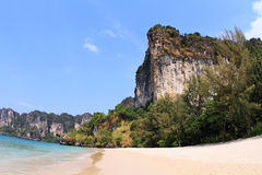 Praia de Railay Fotografia de Stock Royalty Free