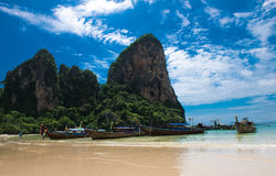 Praia de Railay Fotografia de Stock