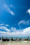 Praia de Railay, krabi, Tailândia Imagem de Stock