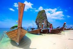 Praia de Rairay Imagens de Stock Royalty Free
