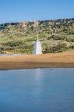 Praia de Ramla no lado do norte de Gozo, Malta Fotografia de Stock Royalty Free