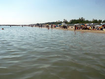 A praia de Ravenna Imagem de Stock Royalty Free
