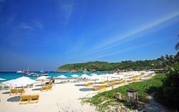 Praia de Raya Foto de Stock