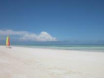 Praia de relaxamento fotos de stock royalty free