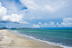 Praia de Restinga do La Fotos de Stock Royalty Free