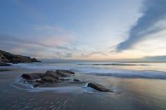 Praia de Rinsey Fotos de Stock Royalty Free