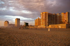 Praia de Rosarito Imagem de Stock Royalty Free