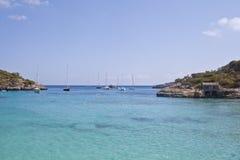 Praia de S'Amarador em Mallorca Fotografia de Stock Royalty Free