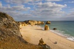 Praia de S.Rafael Royalty Free Stock Photography