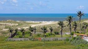 Praia de Sabiaguaba imagem de stock royalty free