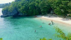 Praia de Salagdoong Fotos de Stock Royalty Free