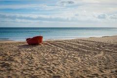 Praia de Salema foto de stock