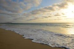 Praia de Salines Beach, in Boa Vista, Cape Verde Stock Image
