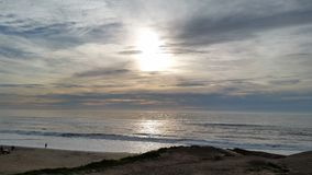 Praia de San Gregorio Fotografia de Stock Royalty Free