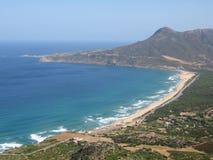 Praia de San Nicolo Imagem de Stock
